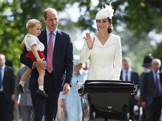 William com a família  ||  Créditos: Getty Images