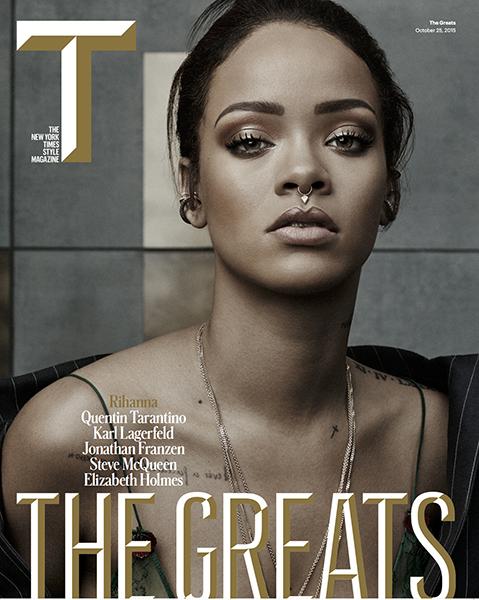 Rihanna na capa da T