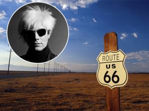 Livro segue os passos de Andy Warhol em road trip de NY a LA