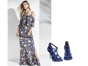 Vestido longo cheio de estilo é a pedida para as noites quentes