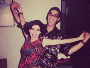 Zeca Camargo e Astrid Fontenelle no primeiro dia da MTV Brasil