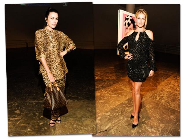 Chiara Gadaleta e Ana Hickmann