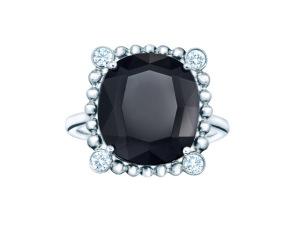 Desejo do Dia: diamantes e espinela no anel-sonho by Tiffany