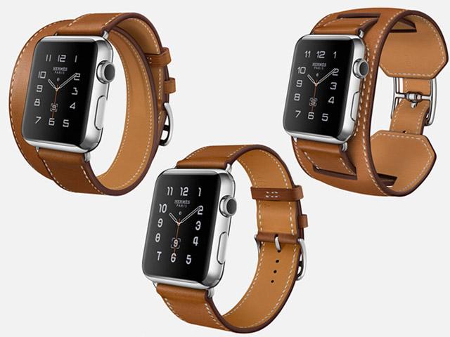 2eb68a670cc ... modelos Hermès do Apple Watch. Compartilhe  Double Tour (com uma  pulseira de volta dupla)  Single Tour (volta única