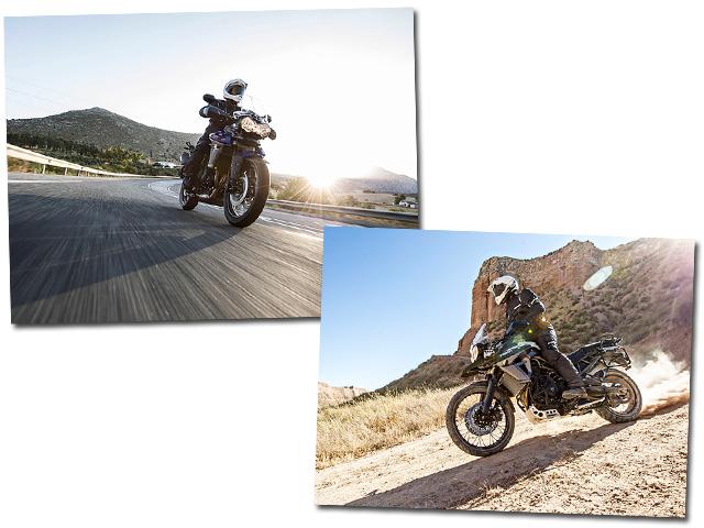 As motos da Triumph  ||  Créditos: Divulgação