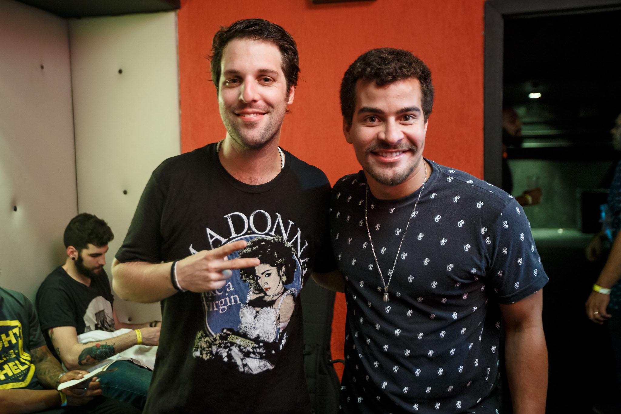 Rodrigo Lampreia e Thiago Martins