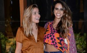 Amora Mautner em evento mulherzinha com hairstylist queridinho das glamurettes cariocas