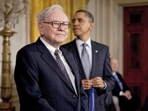 Warren Buffett passa por saia justa na Casa Branca