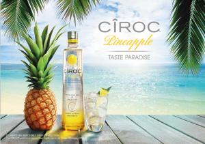 Cîroc Pineapple chega ao Brasil com pool party da PatBo e show de Preta Gil