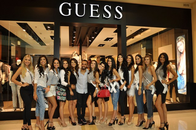 2adca369c Looks Guess marcam presença na passarela do Miss Brasil 2015 – Glamurama