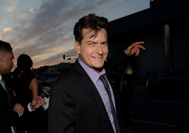 """Charlie Sheen vai ao """"Today Show"""" para um comunicado oficial"""