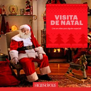 Pátio Higienópolis cria app para enviar mensagens ao Papai Noel
