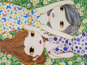Nina Pandolfo expõe obras inéditas e inaugura mural em Nova York