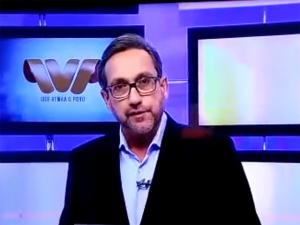 Apresentador de TV da Bahia noticia a prisão de seu próprio filho ao vivo