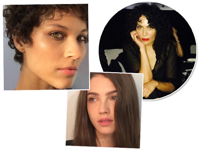 Fabiana Gomes e as modelos com as peles que são tendência na maquiagem