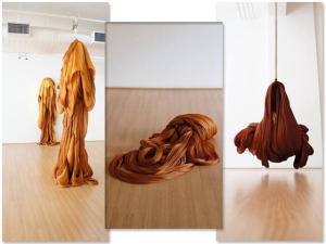 Laces and Hair usa espaço em obras para montar instalação de arte