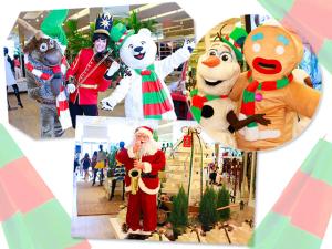 Daslu arma Natal Mágico no shopping  JK Iguatemi