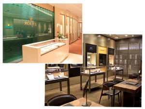 Frattina arma festa para a inauguração da nova loja Rolex em SP