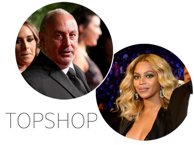 A coleção de Beyoncé em parceria com a Topshop deve chegar na primavera dos Estados Unidos de 2016 Créditos: Getty Images