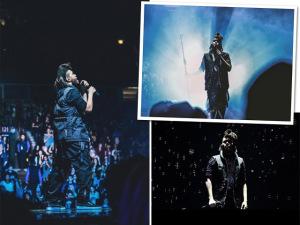 The Weeknd entrega primeiras peças da coleção com Alexander Wang
