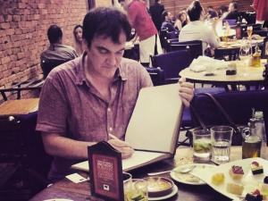 O rolê gastronômico de Quentin Tarantino e Tim Roth por SP