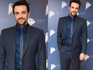 Rodrigo Lombardi escolhe relógio Piaget para usar em premiação da Globo