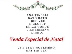 Glamurettes armam venda especial de Natal no Hotel Fasano