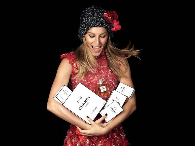 Gisele Bundcgen para Chanel N°5