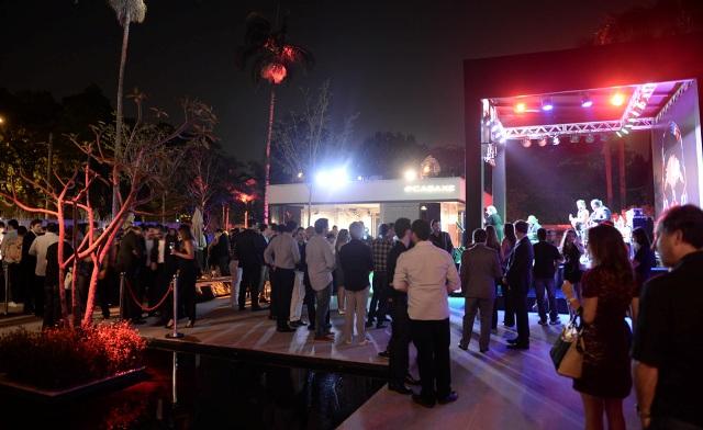 Programação de eventos da Casa Jaguar XE chegou ao fim nesse domingo     Créditos  Andre Ligeiro d85bc8d443