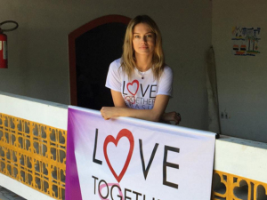 Patricia Beck entra para o time de embaixadoras da Love Together Brasil