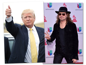 Vocalista do Maná dá recado a Trump em discurso no Grammy Latino