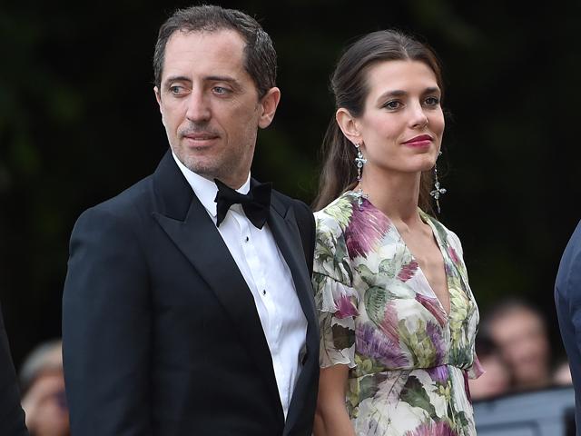 O ex-casal Charlotte Casiraghi e Gad Elmaleh