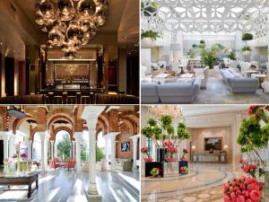 Aqui, os 17 lobbies mais incríveis de hotéis pelo mundo