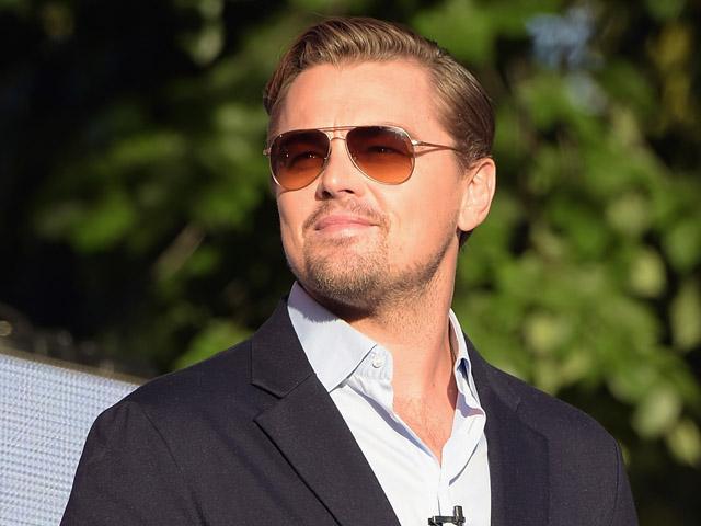 O galã e aniversariante do dia, Leonardo DiCaprio