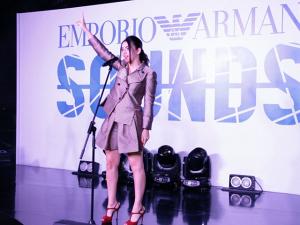 Glamurama bate um papo com Charli XCX no Emporio Armani Sounds