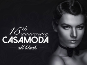 Casamoda Fashion arma agito all black para comemorar 15 anos
