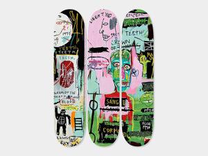 Desejo do Dia: os skates Basquiat para um rolê todo artsy