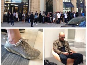 Kanye West provoca fila quilométrica na porta da Barneys de L.A. O motivo?