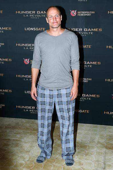 Woody Harrelson: festa do pijama