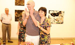 A festa de aniversário de Renato De Cara na Galeria Mezanino em Pinheiros