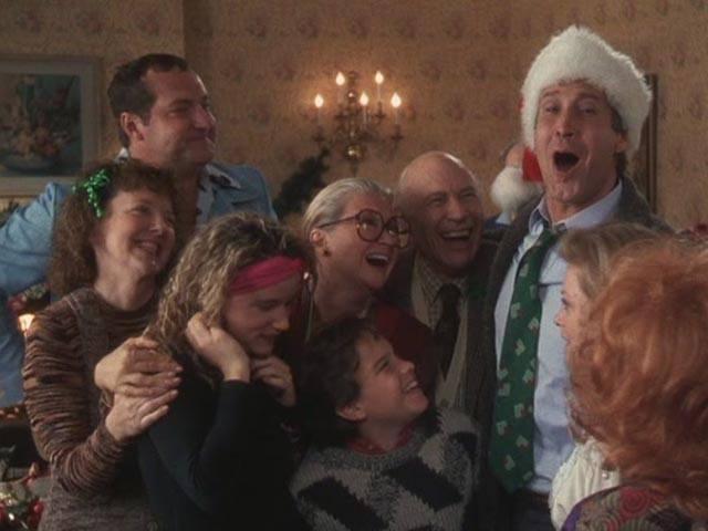 """Cena do filme """"Férias frustradas de Natal""""... Quer família mais maluca que essa?"""