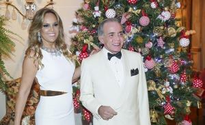 Lucila e Jorge Elias reúnem amigos em festa de fim de ano