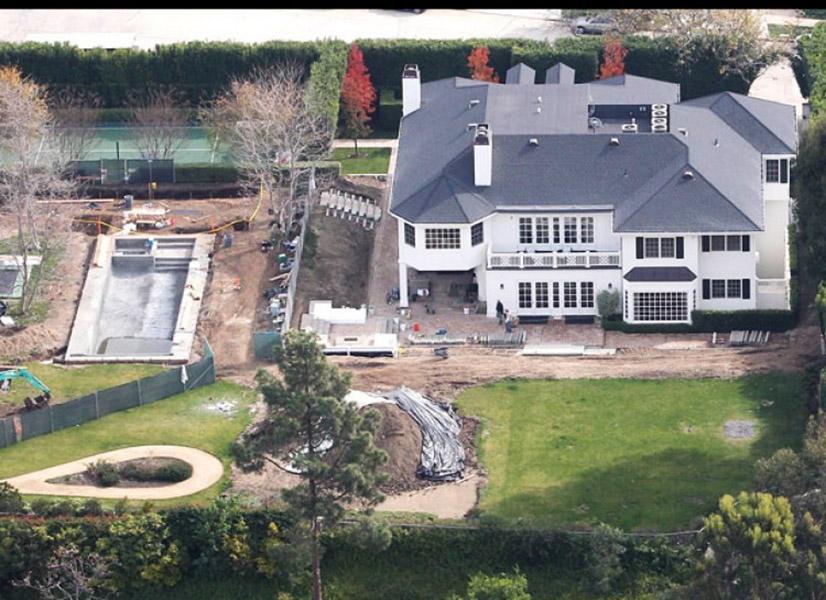 Casa do apresentador Conan O'Brien no bairro de Pacific Palisades, em Los Angeles, avaliada em US$ 20 milhões