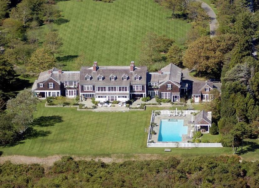 Mansão avaliada em US$ 32 milhões do comediante Jerry Seinfeld nos Hamptons