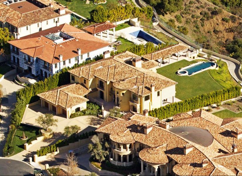 Mansão Kim Kardashian e Kanye West em Bel Air, Califórnia, avaliada em US$ 11 milhões