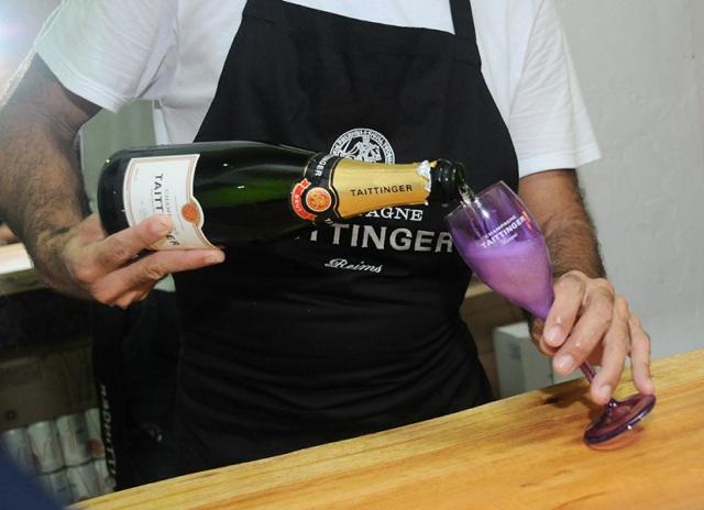O champagne do brinde da virada!