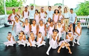 Capezio inaugura sala de balé para as crianças do Capão Redondo