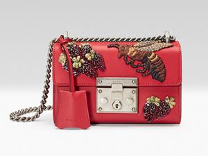 Desejo do Dia: a mini bolsa com bordados lúdicos da Gucci