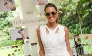 Helena Bordon lança linha de óculos com festa em SP