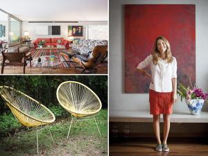 Revista J.P: A casa de Aninha Gonzalez feita para receber e festejar